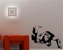 Online Design Banksy Stil Polizist Wanddekor