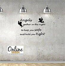 Online Design Engel Sammeln Wanddekor Aufkleber