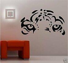 Online Design Tiger-gesicht Ösen Schlafzimmer
