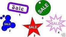 Online Design Verkauf Vinyl Geschäft Geschäft Fenster Grafik Aufkleber - Rosa
