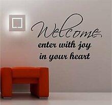 Online Design Welcome Joy in HERZ WAND KUNST