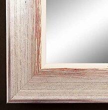 Online Galerie Bingold Spiegel Wand-Spiegel Flur-Spiegel Bad-Spiegel - Kupferberg 4,5 - Silber Rot - 40 x 120 - AM - 200 Größen zur Auswahl - Handgefertigt - Modern, Shabby, Vintage
