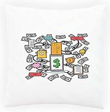 Online-Shop Internet Dekoratives Kissen, Kissenbezug mit Einlage/Füllung oder ohne, 45x45cm p855p