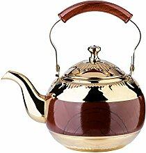 Onlycooker Teekanne mit Teesieb für losen Tee,