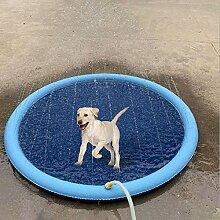 Onlyonehere Pet Sprinkler Splash Pad Spielmatte