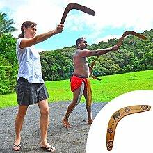 Onsinic 1 Stück Holz Boomerang Klassische V-Form