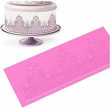 Onsinic Lace-Form-Fondant-Kuchen Bakeware Kuchen,