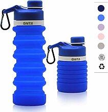 ONTA Faltbare Wasserflasche - BPA-freie für