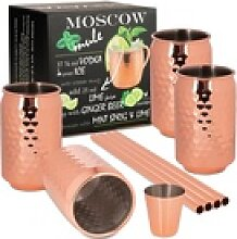 ONVAYA Cocktailglas Moscow Mule Becher Geschenk