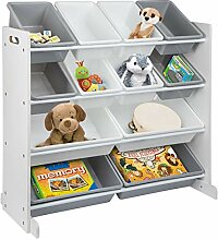 ONVAYA® Kinderregal | Organizer | Spielzeugregal