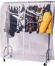 ONVAYA Kleiderständer mit Abdeckung | hohe