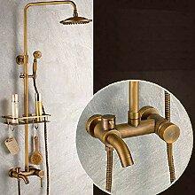 Onyzpily Antike messing Badewanne Duscharmatur