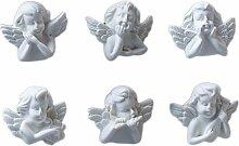 OOCC 6 Stück Engel Magnet Aufkleber Kühlschrank