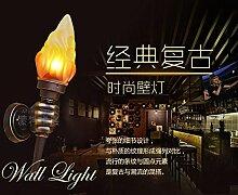 OOFAY LIGHT® Retro Fackel Wandleucte 1 flammig