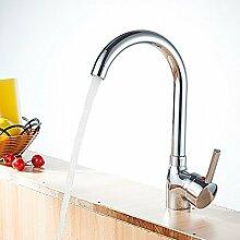OOFAY TAPS® Moderner Einhand-Küchen-Waschtischarmatur 62118(Kein Schlauch enthalten, bitte kaufen)