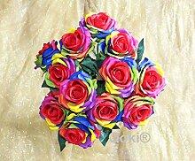 Ooki Blumenstrauß mit 12 Langen Stielen, aus
