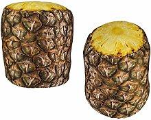OOTB Stoff-Türstopper, Ananas, Plastik, Bunt, 13.5 x 10 x 17 cm