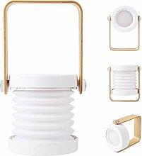 OOTOO LED Nachttischlampe Tischlampe Tischleuchte