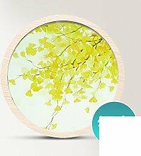 OOXJGGBCG Pastoral wohnzimmer dekoration malerei/bild/sofa-wandfarbe/moderne und einfache dekorative malerei/triple abstract paintings/malerei-E 50x50cm(20x20inch)