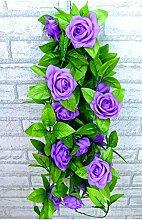 Op.h Künstliche Rosenkranz, Seidenblumen,