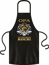 Opa bester Koch BBQ Grill Fun Spruch Grillschürze