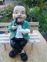 Opa sitzt (klein) - Menschenfiguren - OM013