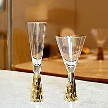 Opak Europäischen Stil Kristall Rotwein Glas
