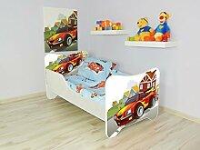 opbeds Bett für Kinder Design Matratze inklusive RACING CAR