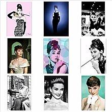 OPBGM Audrey Hepburn Filmplakate und Drucke