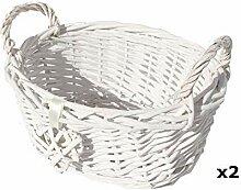 opfurnishing Oval Weiß Französisch Shabby Chic