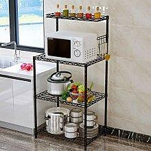 Ophihdlhd Bodenstehendes Regal verstellbar Küche