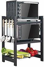 Ophihdlhd Küchen-/Mikrowellen-Regal mit 3