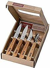 Opinel Küchenmesser-Set, 4-teilig, Geschenkebox
