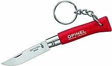 Opinel Schlüsselanhänger, Stahl 12C27, Rostfrei,