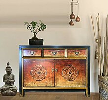 OPIUM OUTLET Asia Kommode Schlafzimmer, Sideboard