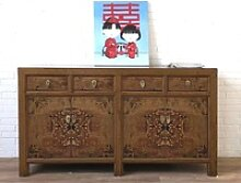 OPIUM OUTLET Konsole Vintage Sideboard aus China,