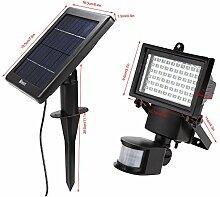 oplon 30/60 LED Solarleuchten, Wasserdichte Garten
