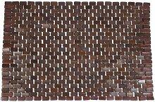 Opportunity 42CB108411570 Badematte FU, Bambus, 90 x 60 x cm, Braun