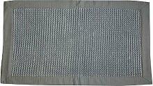 Opportunity 52G131703 Badvorleger, Baumwolle, 80 x 50 x 1 cm grau