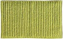 Opportunity 52G13170443 Badvorleger, Baumwolle, 80 x 50 x 1 cm grün