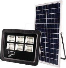 OPT 5465 - LED-Flutlicht mit Solar Panel, 900 lm,