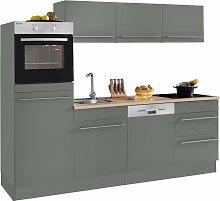 OPTIFIT Küchenzeile Bern, Breite 240 cm mit