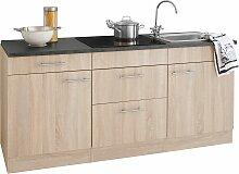OPTIFIT Küchenzeile Mini, mit E-Geräten, Breite