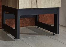 OPTIFIT Möbelfuß Yukon 30x33,8x17,8 cm schwarz