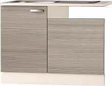 OPTIFIT Spülenschrank Vigo, Breite 110 cm B/H/T: