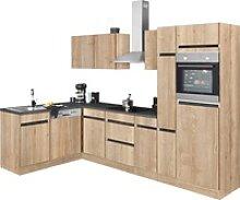 OPTIFIT Winkelküche Roth, mit E-Geräten,