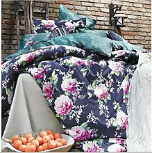 Mako Satin  Luxus Bettwäsche   200 x 200 cm 3 Teilig  Kösem