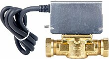 Optimale op-2port 2Port Motorisiertes Zonenventil, 230V, Messing/Silber