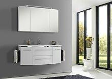OPTIpremio2040 Optifit Badblock 120cm (Weiß