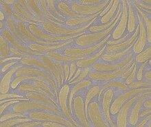 Opulence Tapete in braun, gold